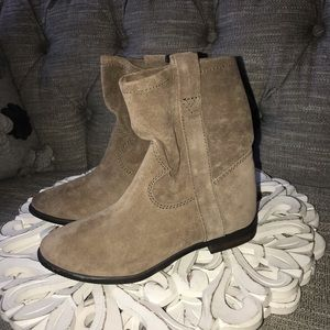Vince Camuto Ankle Suede Leather Boots NEW 5.5